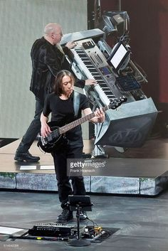 Dream Theater performs at the Friedrichstadtpalast on March 9, 2016 in Berlin, Germany.