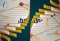 Span a Texture Across Folding Splines in C4D — Tuts