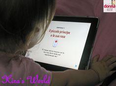 bimba ascolta piccolo principe App, The Petit Prince, Apps