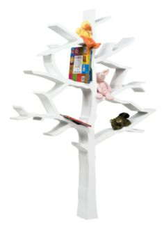 What better way to store your books than in a tree?