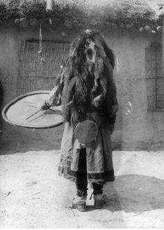 """eurasian-shamanism: """" Photographs of a Nanai shaman Museum of Ethnography, Budapest """""""