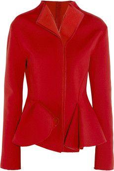 Lanvin Stretch-scuba jersey peplum jacket   NET-A-PORTER (Fairytale 2014)