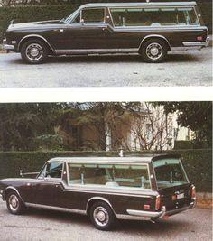 Rolls-Royce Silver Shadow hearse built by the Italian coachbuilder Dario Casale