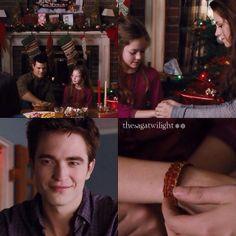 Jacob, Renesmee, Bella and Edward @thesagatwilight
