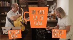 Um café lá em casa com Marcos Valle e Nelson Faria. Grande papo com um dos mestres da Música Brasileira.