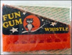 I remember these. They were made from the same wax as wax lips/fangs, and they really whistled.