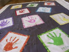 Must remember this one when I get asked to do a preschool or kindergarten quilt in the future!