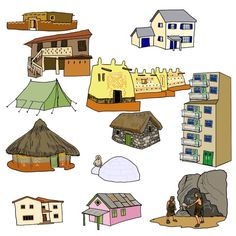 Taal -> soorten huizen