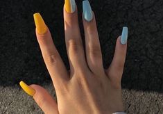 20 Fabulous DIY Summer Nail Color and Designs To Try Out - BellyitchBlog