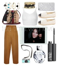 """""""/let it hapenn/"""" by sophlaugh ❤ liked on Polyvore featuring Rosetta Getty, Miss Selfridge, Chanel, Tamara Mellon, NARS Cosmetics, Accessorize and GUESS"""