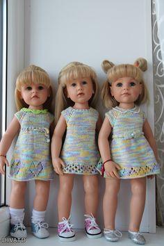 И к нам пришла зима! Коллекционные куклы Rosemarie Müller. Одежда и игрушки своими руками / Коллекционные куклы Rosemarie Anna Muller / Бэйбики. Куклы фото. Одежда для кукол