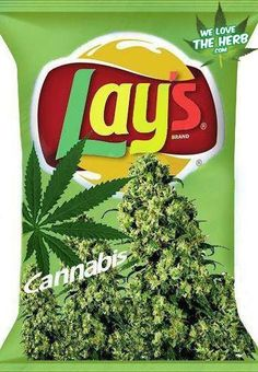 where do they get this stuff???  :)    Lays Cannabis Chips we-love-the-herb