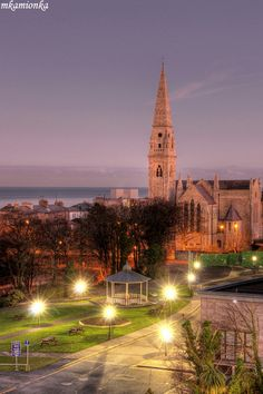 Fallen stars, Mariners' Church was opened in 1837. It has formerly served the British Navy and now it houses the National Maritime Museum, Dun Laoghaire, Ireland Copyright: Mariusz Kamionka