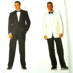 Vogue Mens Formal Pants Jacket Sewing Pattern 2383 Sz Tall 44-48 UNCUT  #Vogue