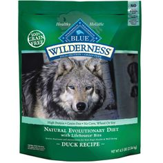 Blue Buffalo Wilderness Duck with Sweet Potatoes Adult Dry Dog Food ~ Regular price with 24 lbs is $63.99.