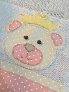 Baby princess bear patchwork