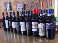 """April 16th, 2014. Blind Tasting Vino Nobile 2011 (by invitation only event), at """"E lucevan le stelle"""" wine bar & bistro in #Montepulciano #Tuscany"""