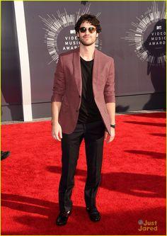 Darren Criss at the MTV VMAs 2014