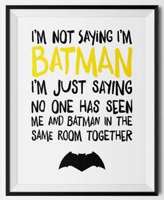 I'm loving this Batman boys room inspiration! Plus, this Batman themed free printable will look awesome in my son's room. Put on door to superhero themed room Batman Birthday, Batman Party, Diy Birthday, Birthday Quotes, Lego Batman, Birthday Gifts, Batman Free, Funny Batman, Gotham Batman