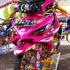 Gambar Motor Drag Bike Jupiter Z Satria Fu, Drag Bike, Street Racing, Honda Cb, Kawasaki Ninja, Street Fighter, Drag Racing, Golf Bags, Cars And Motorcycles