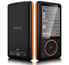 Kubik Evo 8GB MP3 Player with Radio and Expandable MicroSD/SDHC Slot - Black