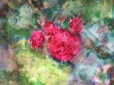 Check out Aase Birkhaug, Abstract Autumn Roses (2015), From Art Screen TV Autumn Rose, Artsy, Roses, Watercolor, Abstract, Tv, Artwork, Check, Painting