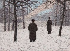 Catto Gallery | Mark Edwards Solo Exhibition 2016 | Watching the Fire