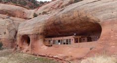 All'asta una casa totalmente ecosostenibile tra le rocce del Grand Canyon
