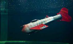 Peixe robô detecta poluição da água