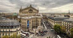 Place de l'Opera, Palais Garnier.  Home of the Phantom.  Of the Opera, that is.