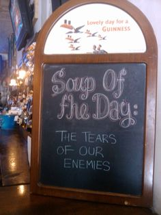 That is one intense restaurant.