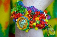 Front of the Circus Bracelet by RCButtons, via Flickr