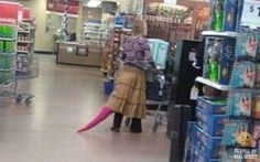 Bizarre People Spotted at Walmart20