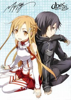 Sword Art Online | A-1 Pictures | Reki Kawahara | abec / Kirito and Asuna