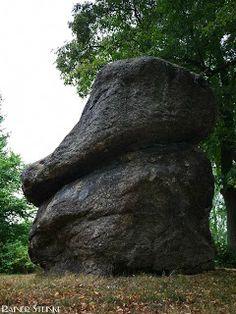 Der Teufelsstein (Devilsrock) in Marktleuthen im Fichtelgebirge