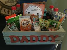 Daddy's Hospital Survival Kit
