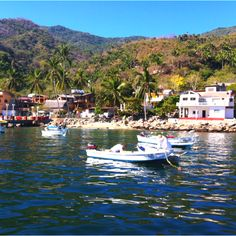Yelapa, hermoso pueblo pesquero en la costa sur de la Bahia de Banderas #PuertoVallarta