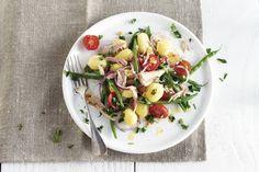 Aardappelsalade met tonijn - Recept - Allerhande