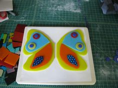 Fusion Glass   Butterfly Project: The making of a fused glass butterfly