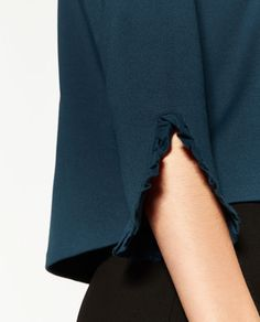 Image 6 of FRILL DETAIL TOP from Zara