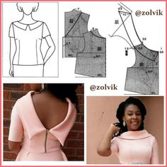 Bodice Pattern, Suit Pattern, Sleeve Pattern, Pants Pattern, Neck Pattern, Dress Sewing Patterns, Clothing Patterns, Shirt Collar Pattern, Pattern Drafting Tutorials