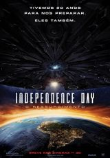 Independence Day – O Ressurgimento FI-AC (2016) 2h 00min Título Original: Independence Day: Resurgence Assisti 10/2016 - MN 7,5/10 (No Pin it)