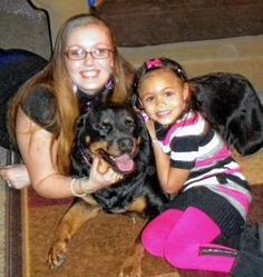 Muriel Raggi, with daughter Shawna, endured six months of domestic abuse because she didn't want to leave behind her Rottweiller, Jasmine. Currently, there are no city shelters that take in domestic abuse victims and their pets.