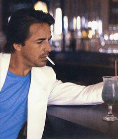 Don Johnson...Miami Vice....What fashion sense he had.   :P