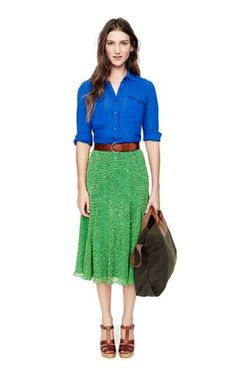 St. Patrick's Day outfit inspiration! Get the look for less by shopping at Goodwill!
