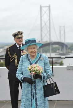 The Queen And The Duke of Edinburgh Visit The Forth Road Bridge To Mark Its 50th Anniversary. A bit of Trivia: All Royal funerals are named after Bridges in the UK. Fourth Bridge is the code name for the Duke's funeral, and London Bridge is the Queen's.
