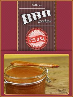 Egy szuper jó amerikai BBQ szósz! A receptért irány a Wescher! 👈 Grilling, Bbq, Tableware, Barbecue, Dinnerware, Barrel Smoker, Crickets, Tablewares, Dishes