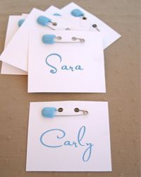 Amazing Baby Shower Name Tags   Google Search