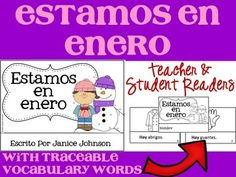 *FREEBIE* Spanish January Reader Enter to win a free product from the Speak up! store. Details inside freebie download.