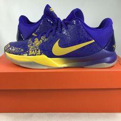 the latest 21622 0a961 Nike Zoom Kobe V 5 Rings 386429702 Size 9, New (display), K10